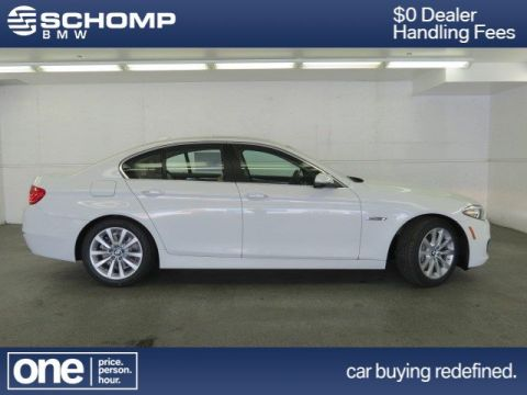 New 2016 BMW 5 Series 535i xDrive With Navigation & AWD