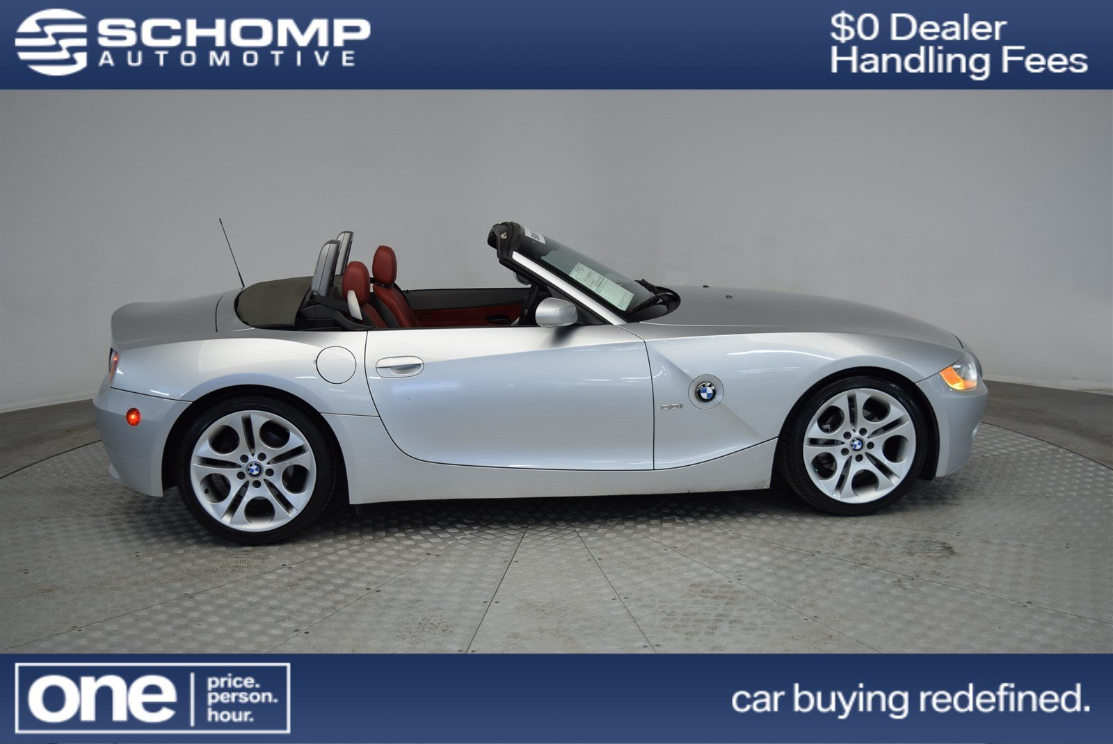 Pre Owned 2004 Bmw Z4 3 0i Convertible In Highlands Ranch